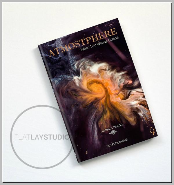 Spiral Clouds Creative Book Cover Template