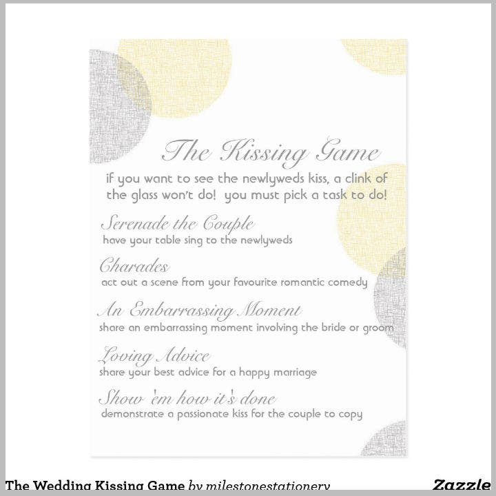 the-wedding-kissing-game-postcard-menu-template