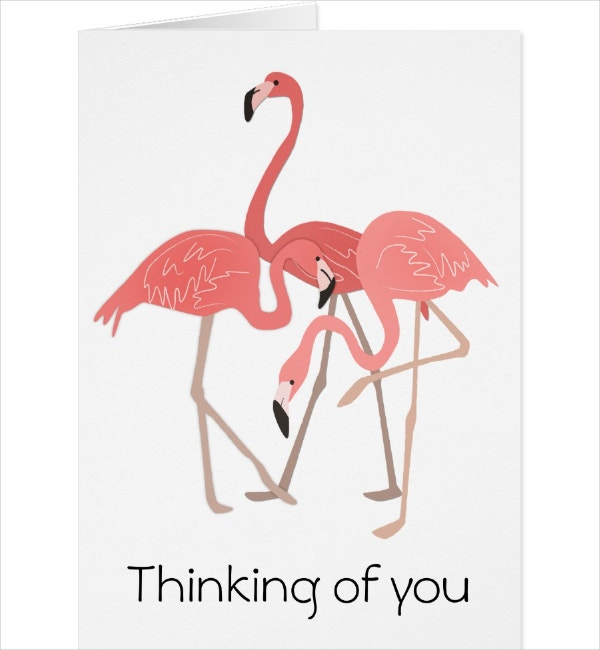 Thinking Of You Card Design
