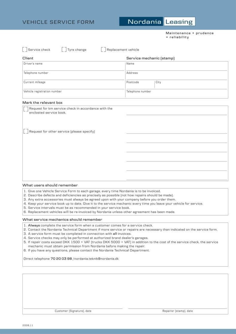 vehicle service form 1 788x1115
