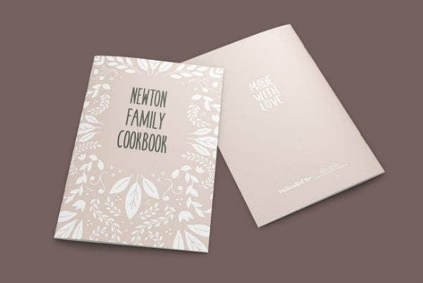 Vintage Cookbook InDesign Template