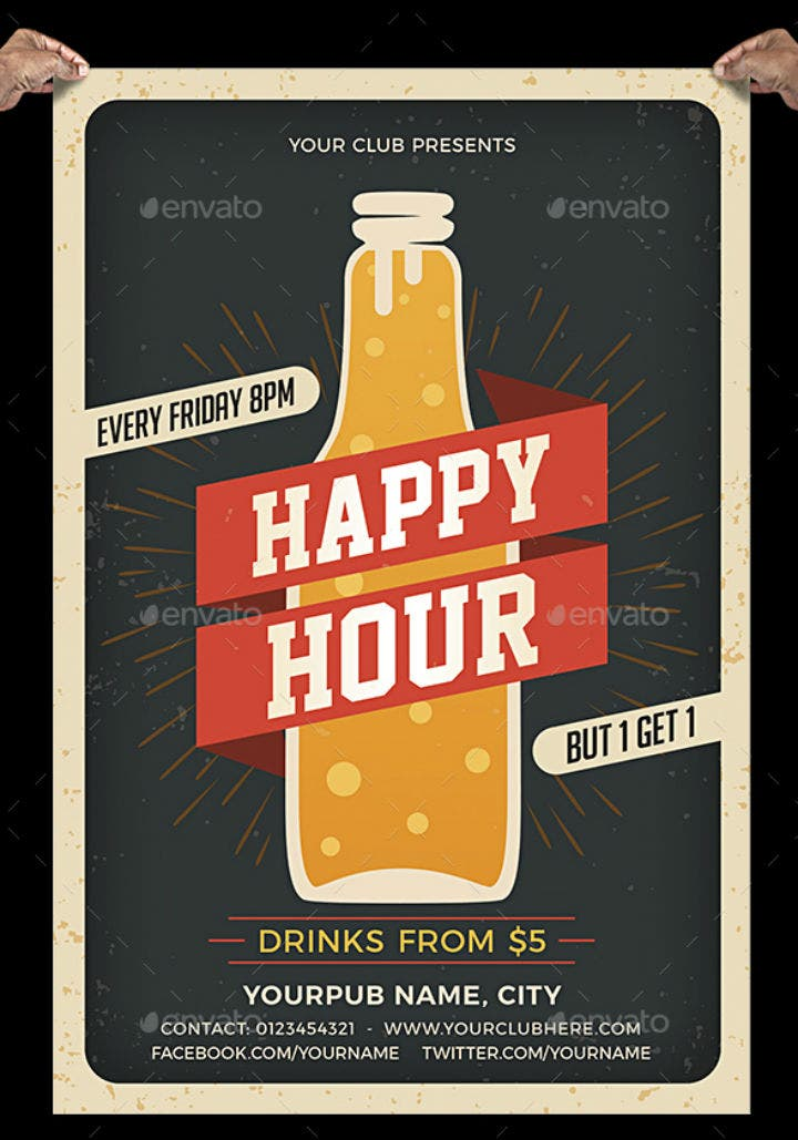 vintage-happy-hour-menu-flyer-template