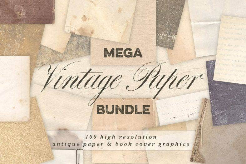 vintage-paper-book-cover-bundle