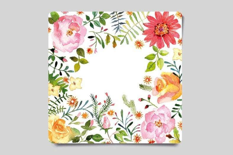 Watercolor Nature Greeting Card