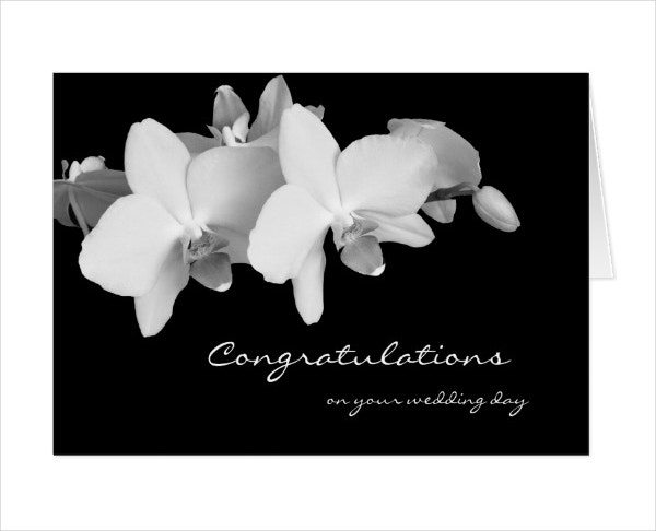 Wedding Congratulation Greeting Card