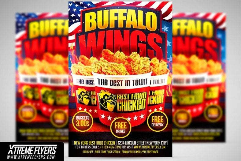 wings_fast_food_flyer_templates