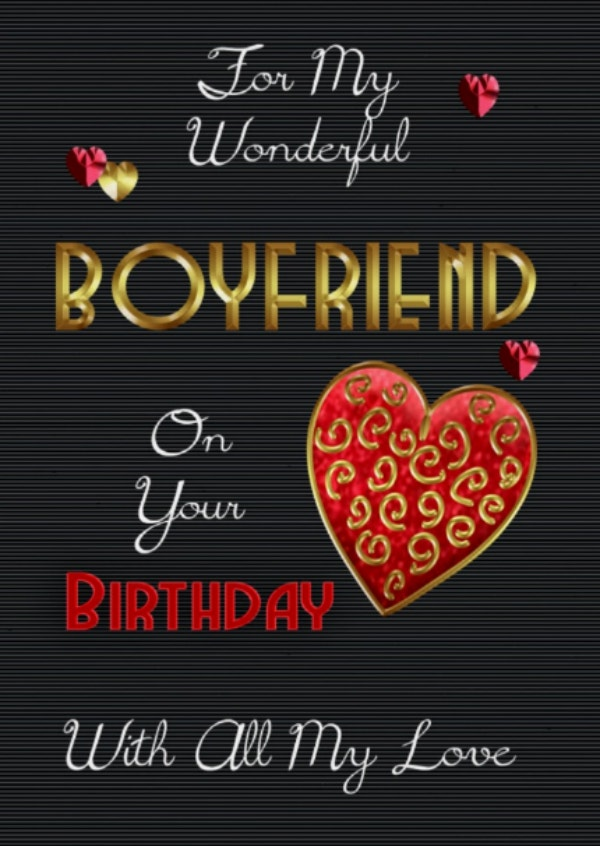 wonderful boyfriend card template