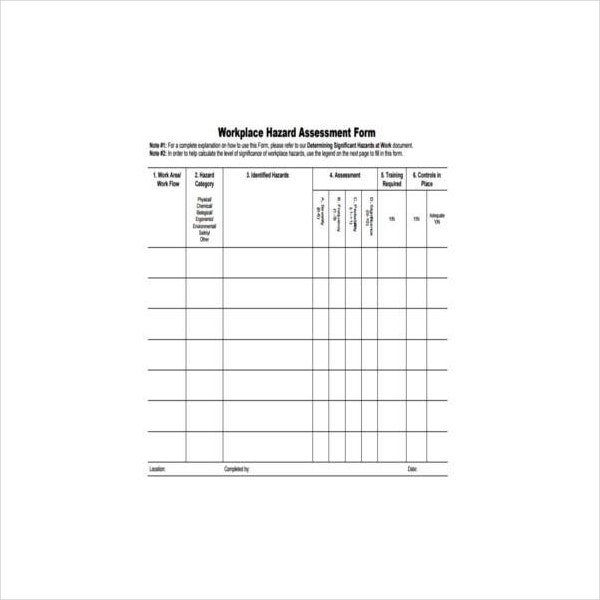 workplace hazard assessment form1