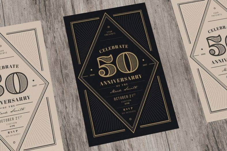 anniversary-art-deco-invitation-template