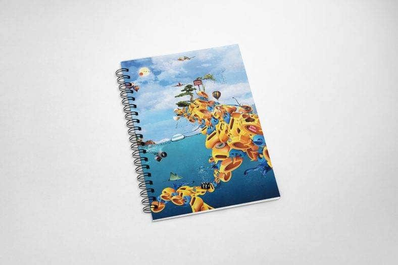 artsy-notebook-cover-template