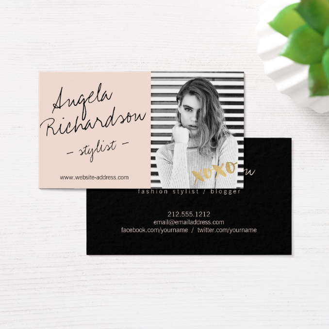chicactor-business-card-template