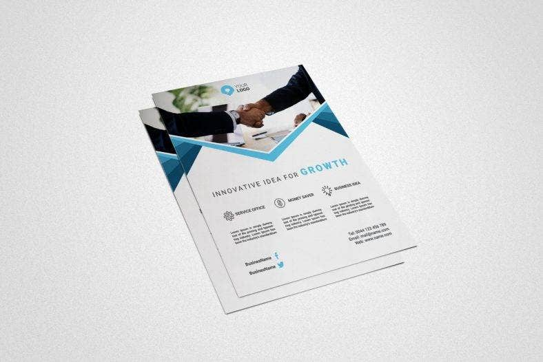clean-small-business-flyer