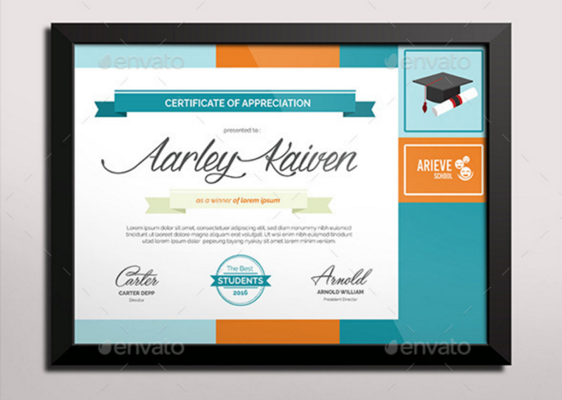 colorful-education-certificate-template