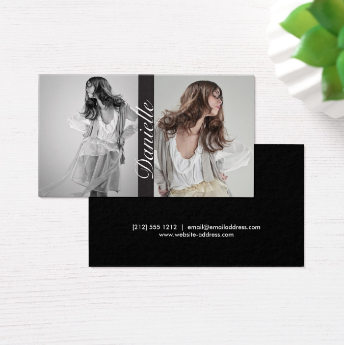 double-photo-actor-business-card-template