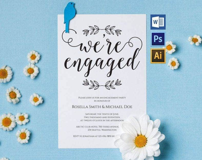 minimalistic-engagement-announcement-template
