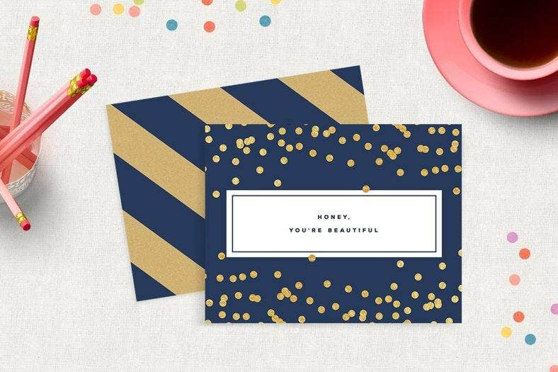 navy-small-greeting-card-template