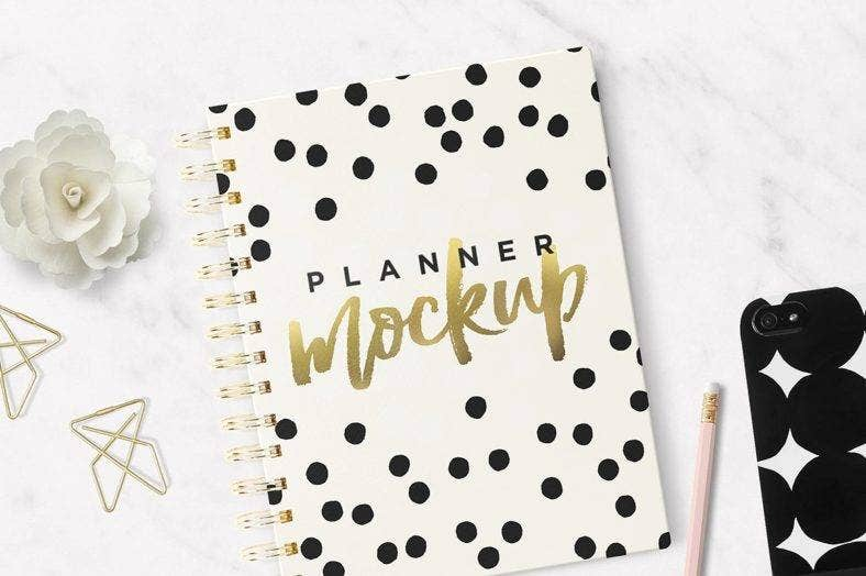 planner notebook cover template 788x524