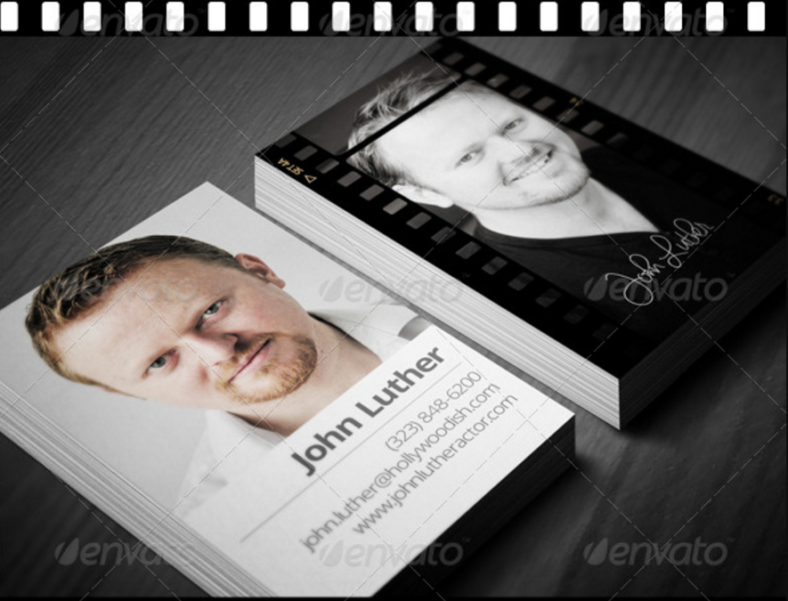simple-actor-business-card-template