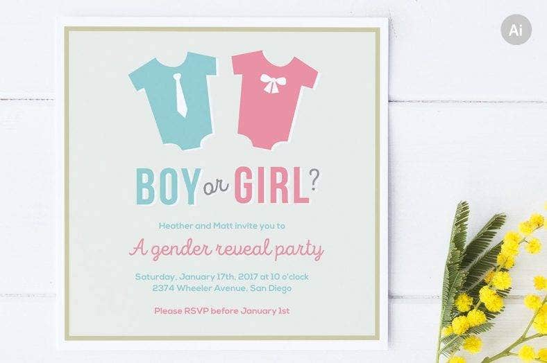 simple-gender-reveal-announcement-template