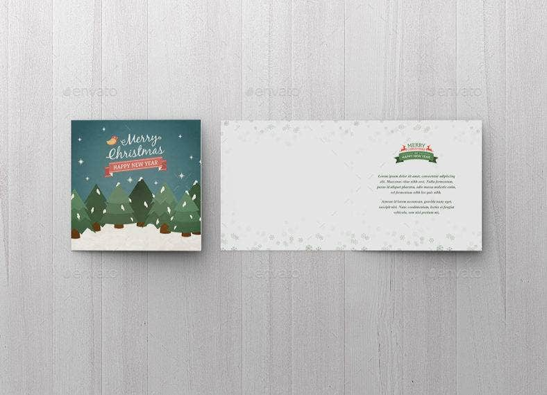 square-small-greeting-card-template