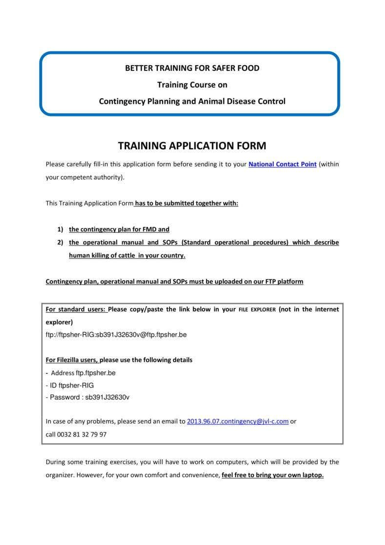 Employment application form template course enrolment form.