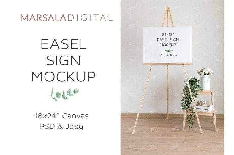 wedding-easel-welcome-signage-template