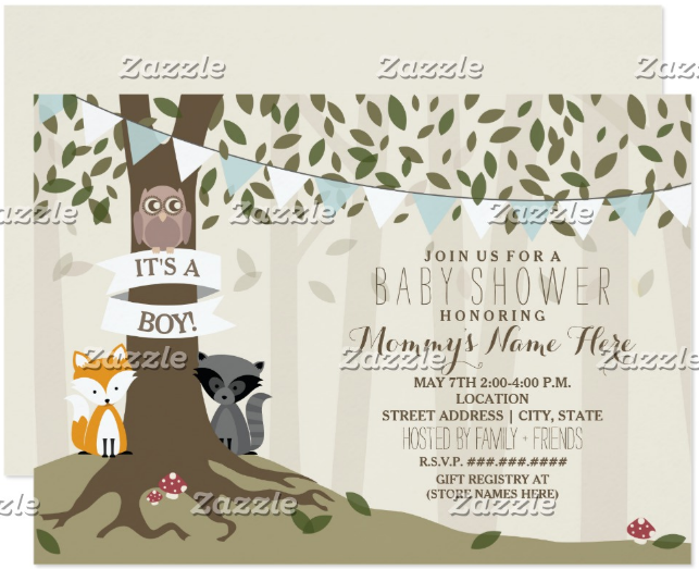 woodland-creatures-owl-invitation-template