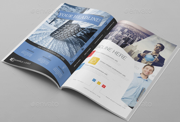 6x Magazine Ad Template Pack