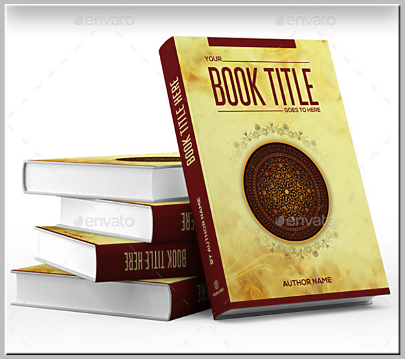 abstract illustration book cover template 788x698