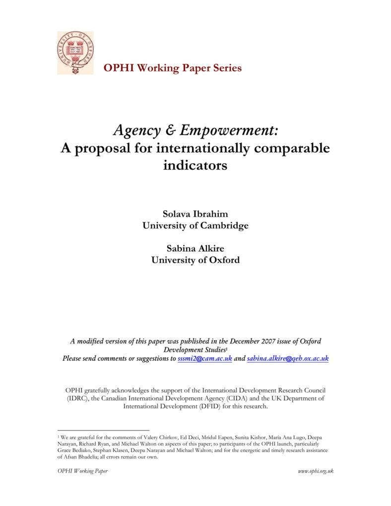 Agency-Empowerment-Proposal