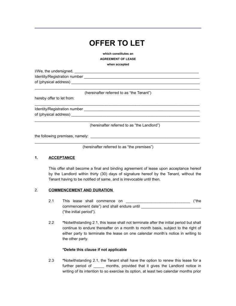 agreement of lease sample 788x1020