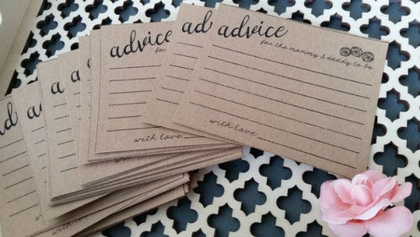 baby advice card template featured img