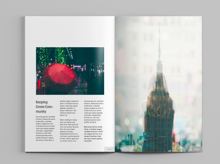 Beta A4 Magazine Mockup