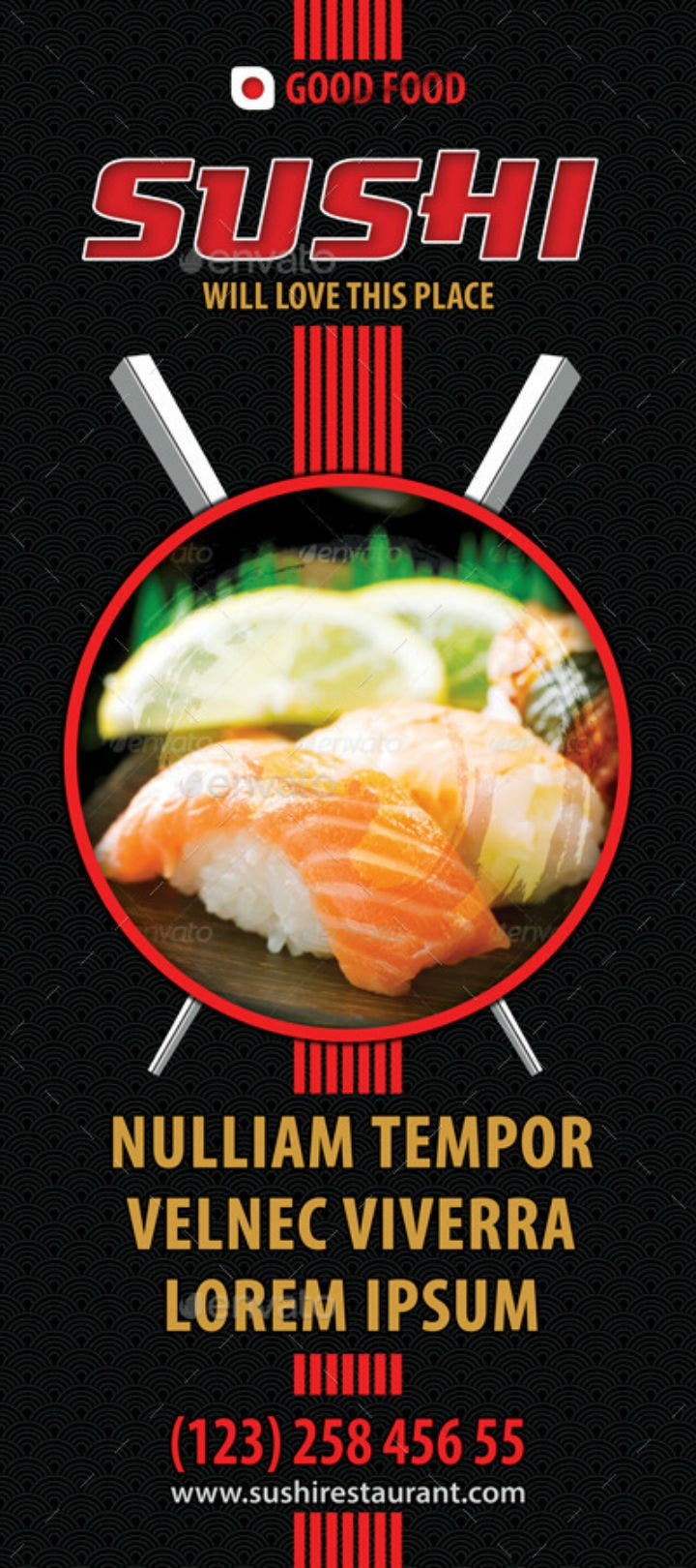 black-sushi-restaurant-rollup-banner-psd-template