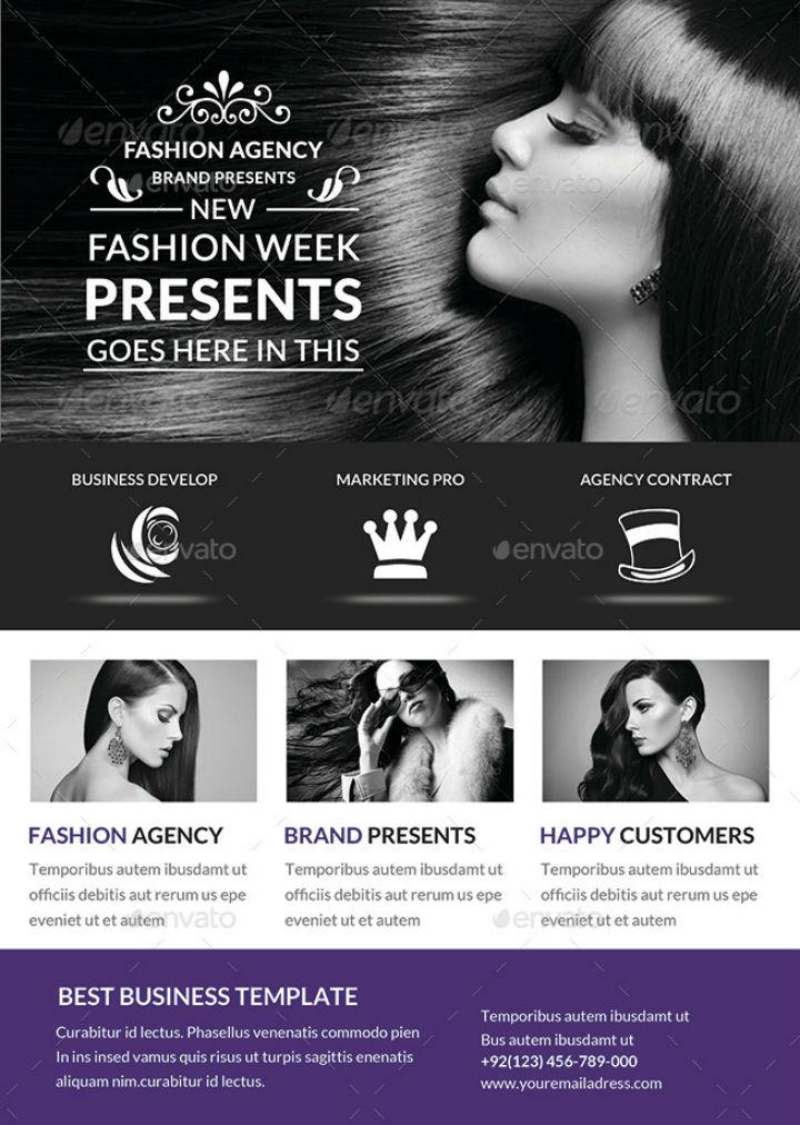 black-white-fashion-talent-agency-flyer-template-bundle