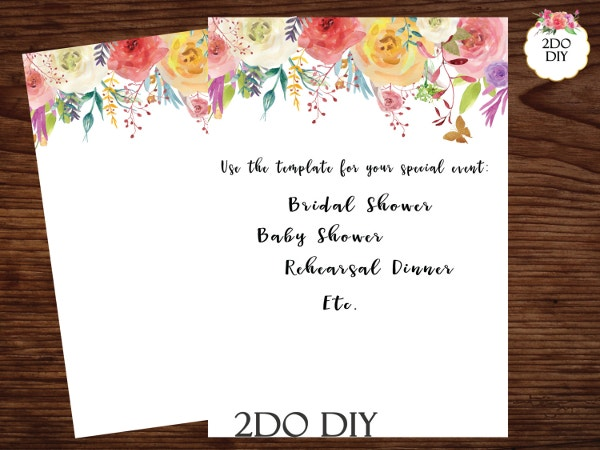 blank-floral-wedding-invitation-word-template