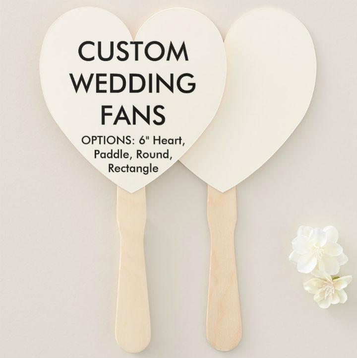 blank-heart-shaped-wedding-fan-program-template