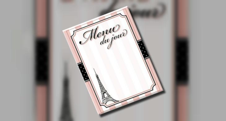 blank menu feat