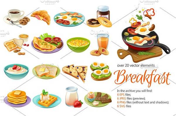 breakfast-menu-set