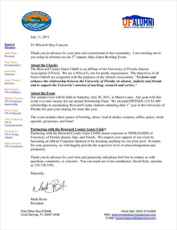 broward-county-alley-gator-bowl-sponsor-letter