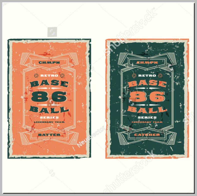 Bundled Vintage Baseball Trading Cards
