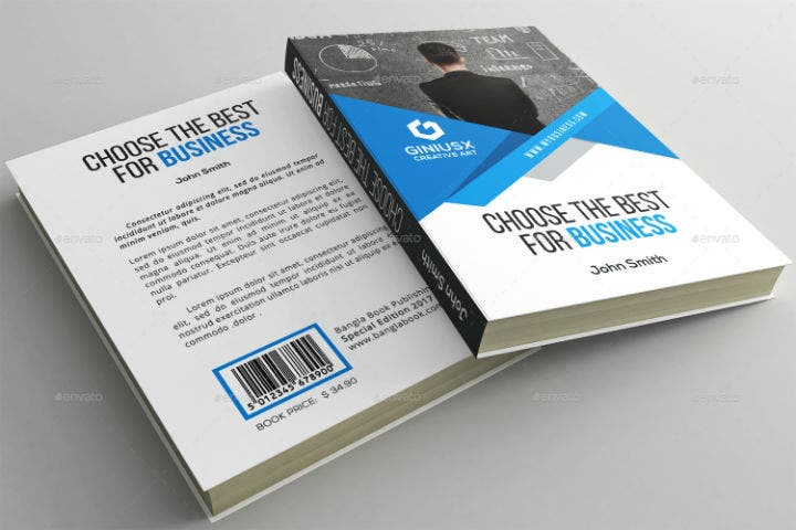 business accounting book cover template