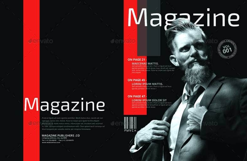 business magazine template 788x514