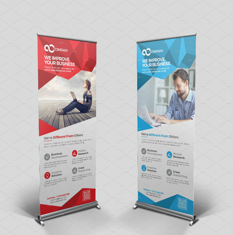 Business Multipurpose Rollup Banner Template