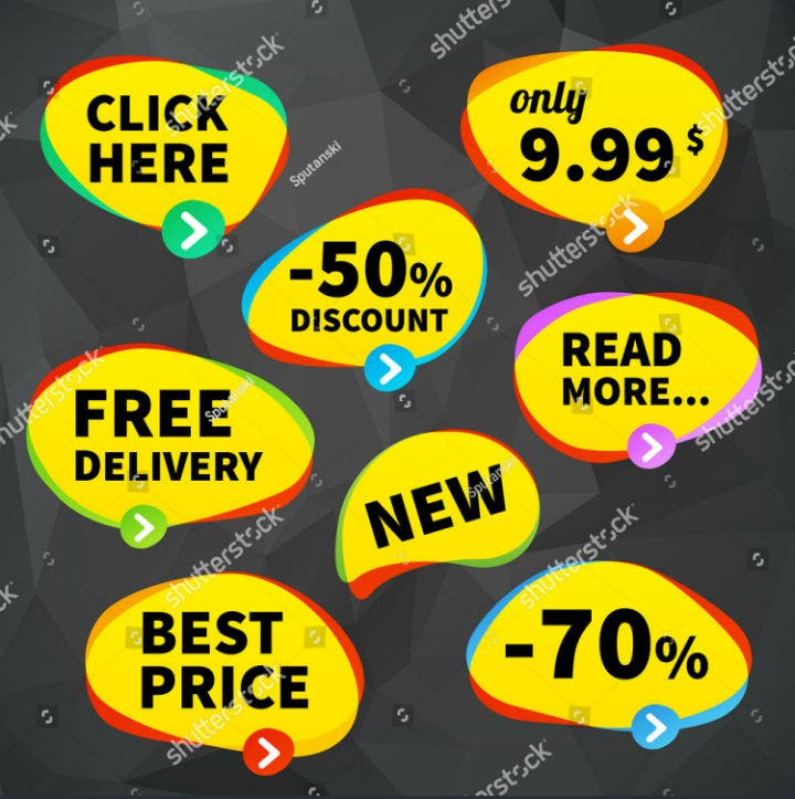 business-price-tag-label-signage-vector-template-set