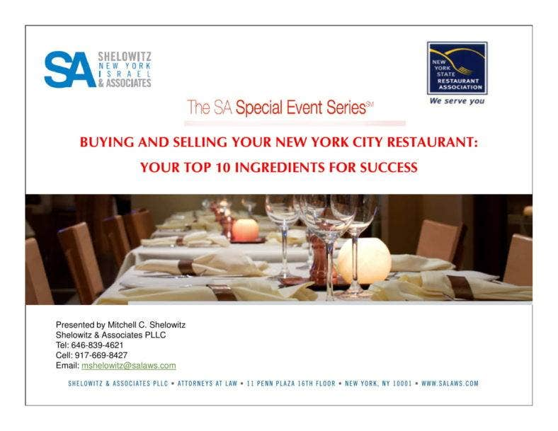 buying and selling a new york city restaurant guide 01 788x609