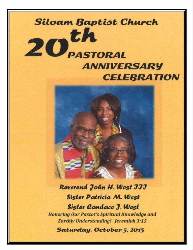 church annivesary program template 01 788x1019