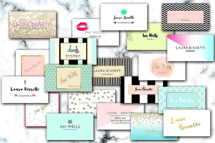 colorful-feminine-business-card-template-pack