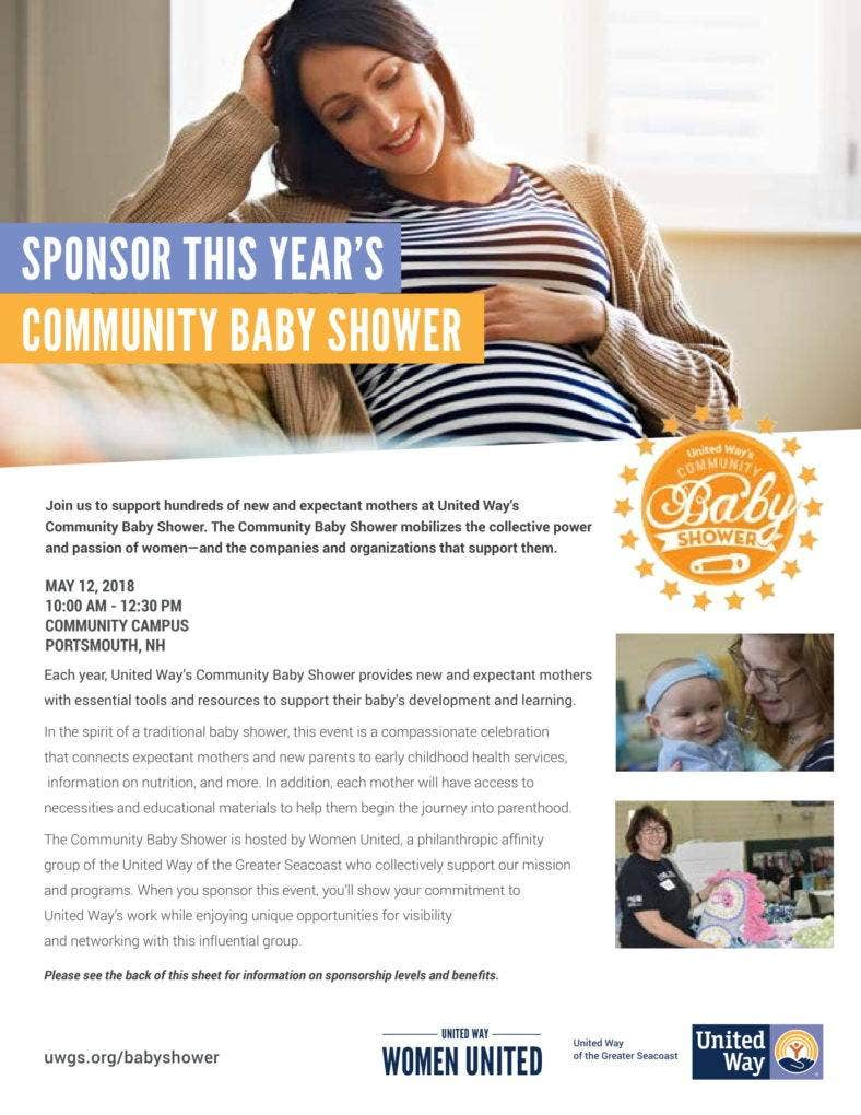 Community Baby Shower Program