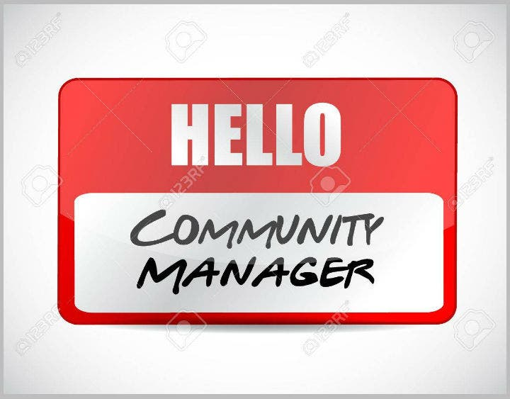 community-manager-name-placard-template